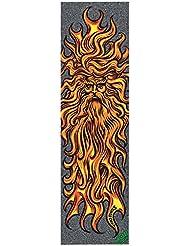 Santa Cruz Sun God placa de Grip de skateboard Unisex, Multicolor