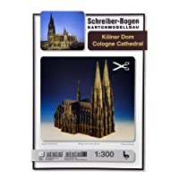Aue-Verlag 49 x 29 x 53 cm Cologne Cathedral Model Kit