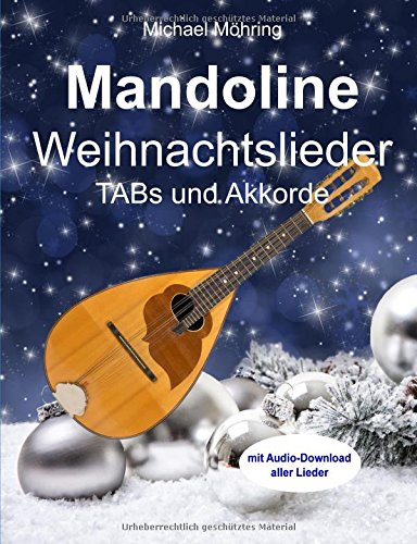 Mandoline Weihnachtslieder: TABs und Akkorde