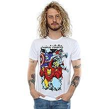 Marvel Hombres Comics Characters Camiseta