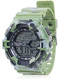 Skylofts Analogue Black Dial Military Green Strap Men's & Boy's Watch - Waterproof Watches For Men