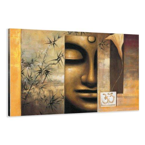 120 x 80 cm cuadro en lienzo buda 5157-SCT – imagen / impresion / pintura listo para colgar