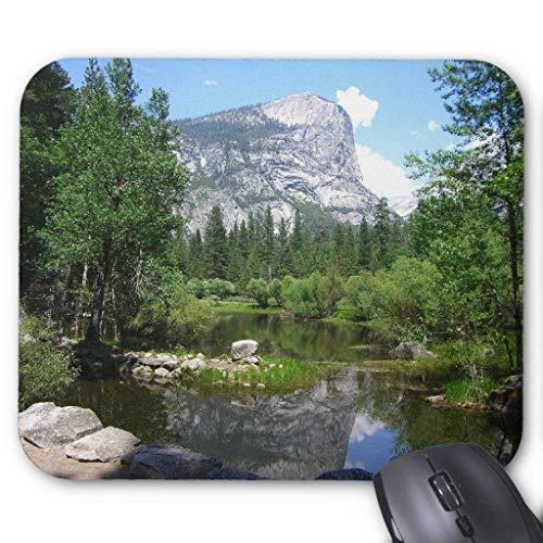 Mirror Lake View in Yosemite National Park Mouse Pad 18×22 cm - Mirror Lake Yosemite National Park