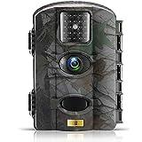 Artitan Wildkamera 1080P Full HD 12MP Die Kamera 20m Erfassungsbereich No Glow Nachtsicht 2,4''LCD Bildschirm Wasserdicht IP65 Digital Wildkamera Fotofalle