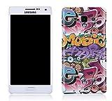 Cell Shell ® Samsung Galaxy A3 Case / Cover / Custodia / Skin Rigida in Plastica / Snap On - Disegno Bomba Graffiti