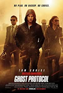 MISSION IMPOSSIBLE GHOST PROTOCOL MOVIE POSTER PRINT APPROX SIZE 12X8 INCHES