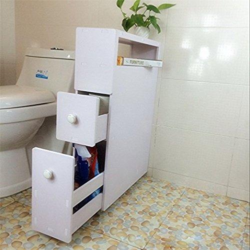 Miyare Japanischestil Badezimmer Aufbewahrung Schran
