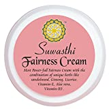 #10: SUWASTHI FAIRNESS MULTI-PROTECTION SKIN WHITENING RADIANT CREAM WITH SECRETLY BLEND OF MIRACLE HERBS AMERICAN GINSENG HERB + AUSTRALIAN SANDALWOOD + LICORICE + ALOEVERA + GREEN TEA + VITAMIN E & B3, ONE & ONLY Solution Your Skin Needs (50 gm)