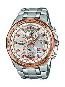 Casio EFR-550D-7AVUEF - Reloj de pulsera hombre, Acero inoxidable, color Plateado de Casio