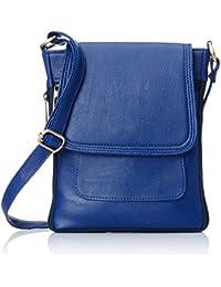 Alessia 74 Women's Sling Bags (Blue) (PBG249B)