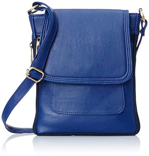 Alessia74 Women's Sling Bags (Blue) (PBG249B)