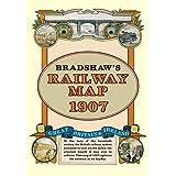 Bradshaw's Railway Folded Map 1907