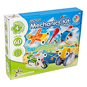 Science4you-Mi Mi primer kit de mecánica, juguete educativo y cientifico, Multicolor (80002084)