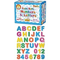 Playwrite Foam Bath Numbers & Letters