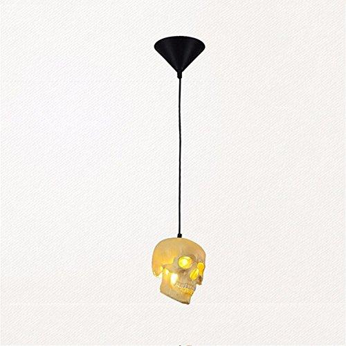 z@ss Resina cranio 1-luce di diametro lampadario 15cm, 5W, E27