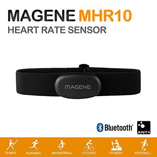 magene mhr10Dual Mode ANT + & Bluetooth 4.0Herzfrequenz Sensor mit Brustgurt Nike-sensor