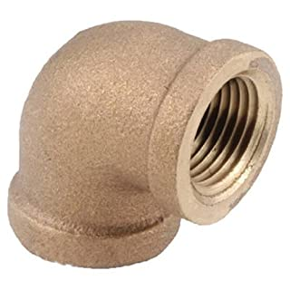 Anderson Metals Corp Inc 738100-12 90 Red Brass Threaded Elbow [Misc.]