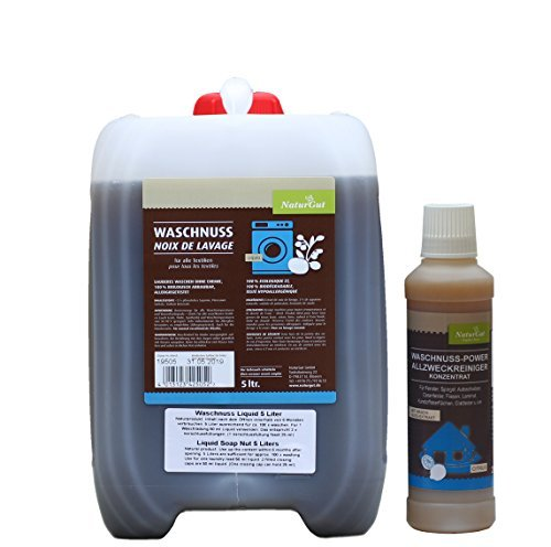 Waschnuss Liquid 5l Kanister + Allzweckreiniger Citrus