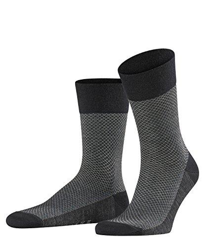 falke sensitive FALKE Herren Sensitive Samurai Socken, per pack Schwarz (black 3000), 41/42 (Herstellergröße: 41-42)