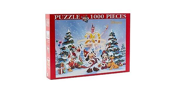 Disneyland Paris 1000 Piece Christmas