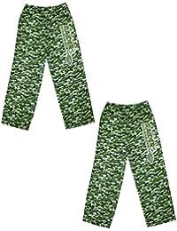 (2 unidades) NFL chicos Oakland Raiders/pantalones de pijama pijamas camuflaje camuflaje Talla:6-7