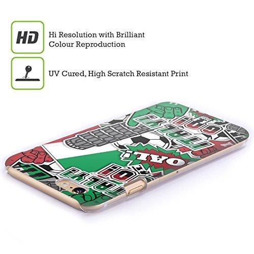 Head Case Designs Francia Calcio Icone Dei Paesi Cover Retro Rigida per Apple iPhone 7 Plus / 8 Plus Italia