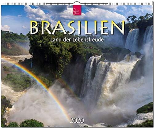 Brasilien - Land der Lebensfreude: Original Stürtz-Kalender 2020 - Großformat-Kalender 60 x 48 cm