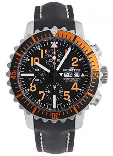 Fortis B-42–Navy Master Chronograph Orange 671.19.49Groovy