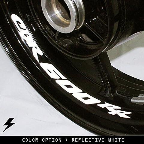 Honda CBR600RR moto cerchio interno adesivo in vinile GU