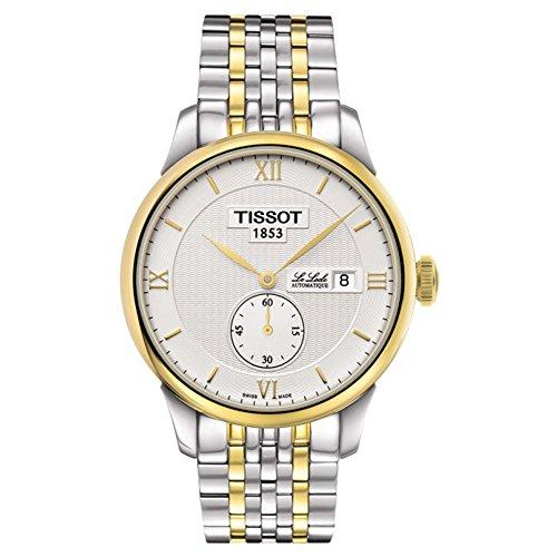 Tissot le Locle T006428220380139mm multicolor Steel Bracelet & case zaffiro sintetico orologio da uomo