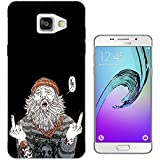 002850 - HOBO Middle Fingers FCK Fuck You Design Samsung Galaxy A5 (2016) SM-A510F Fashion Trend Protecteur Coque Gel Rubber Silicone protection Case Coque