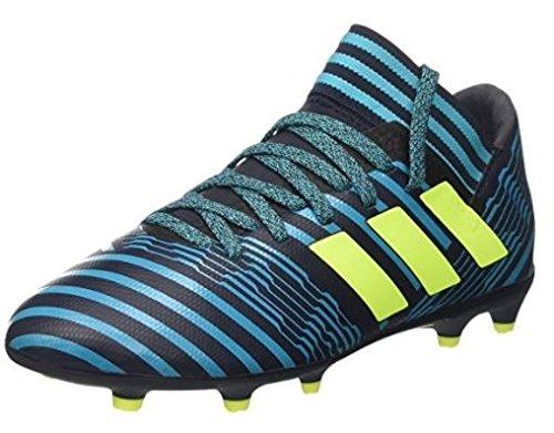 adidas Unisex-Kinder Nemeziz 17.3 FG JR S82427 Sneaker, Mehrfarbig (Indigo 001), 29 EU (Stiefel Adidas-kinder)