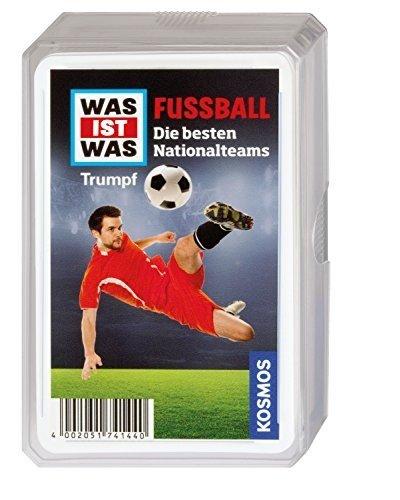 KOSMOS 741440 - WAS IST WAS Fußball Trumpfspiel (Top Jährigen Spielzeug 2 Für Jungen)
