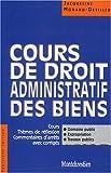 Cours de Droit administratif des biens, Licence