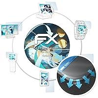 atFoliX Película Protectora para InFocus Turbo 5s Protector Película - 3 x FX-Curved-