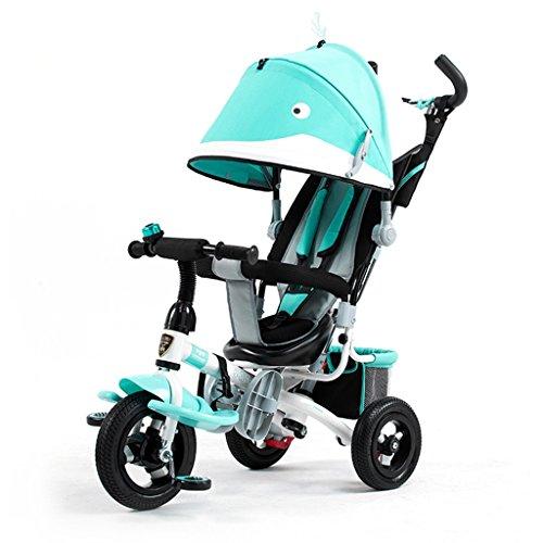 QLL-Des vélos pour enfants Sport en plein air Enfants Tricycle Chariots Chariots pour bébés Bicyclettes pour enfants 3 Roues Sans danger pour les enfants