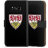 Samsung Galaxy S8 Tasche Hülle Flip Case VfB Stuttgart Fanartikel 1893 Fußball