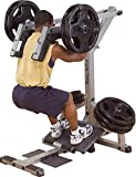 Body-Solid Beintrainer Kniebeugen- und Waden-Maschine Wadenstrecker Leverage Squat Calf Machine Kraftstation