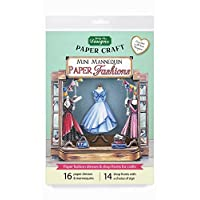 Mini Mannequin Paper Fashions, Paper Craft and Card Making Kit