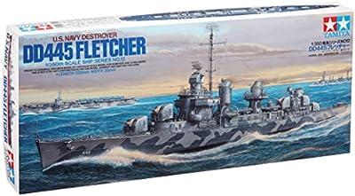 Tamiya - 78012 - Maquette - Bateau - Destroyer Dd445 Fletcher