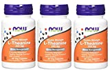 NOW Foods - L-teanina 200 mg. - 60 capsule vegetariane