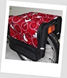 T-JOY-39 Fahrradtasche JOY comic red Kinderfahrradtasche Satteltasche Gepäckträgertasche 2 x 5 Liter KINDER