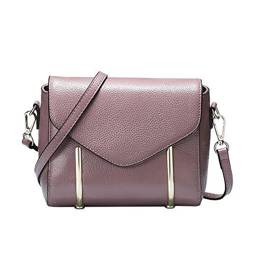Mena UK Grande sacchetto di tote e borsa a tracolla - chiusura magnetica di chiusura - Cuoio sintetico 4 ( Colore : Rosso , dimensioni : 19cm*17cm*12cm ) Taro colori