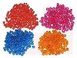 #9: Style Up Macrame Crystal Beads,8mm, (Crystal Beads for Making Macrame Jhula, Macrame Toran, Macrame Jhumar) Mix Set of 4, Every Colour (4) X
