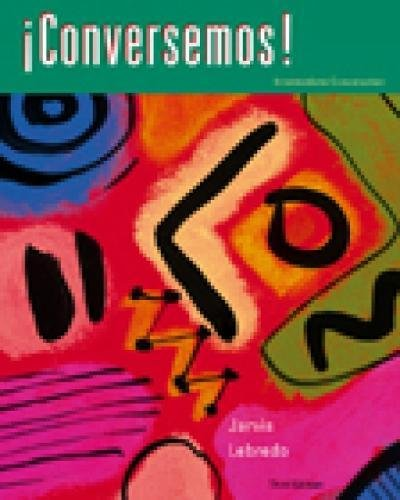 Conversemos! Intermediate Conversation (Spanish and English Edition) (World Languages) por Ana Jarvis