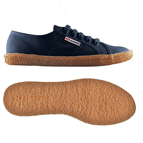 Superga 2750 Naked Cotu, Sneakers basses femme NAVY