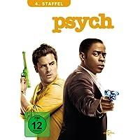 Psych - 4. Staffel [4 DVDs]