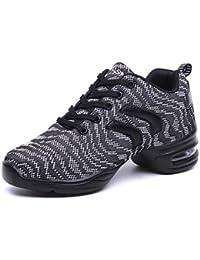 Roch Valley LHPH - Zapatos de claqué (efecto holograma) Silver Hologram Talla:2 UK / 34 EU
