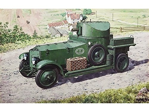 Roden 731 - Modellbausatz British Armoured Car, Pattern1920 Mk I, grau