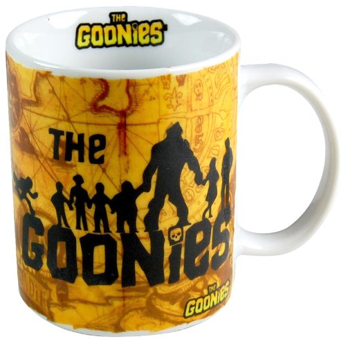 Officially Licensed Goonies Cast and Map Mug in gift box